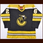 1976-77 Greg Carroll WHA Cincinnati Stingers Game Worn Jersey – Rookie