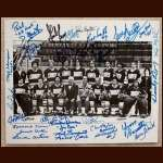 """Slap Shot"" Cast Members 8x10 Autographed Photo - With The Hanson Brothers"
