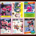1980-81 OPC Philadelphia Flyers Autographed Card Group of 23 – Rick MacLeish (Deceased)