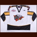 "2008-09 Donny Grover Cincinnati Cyclones Game Worn Jersey – ""2008 Kelly Cup"" – ECHL Letter"