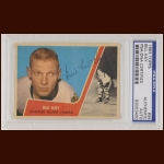 "Bill ""Red"" Hay 1963 Topps - Chicago Blackhawks - Autographed - PSA/DNA"