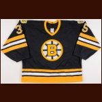 1990-91 Andy Moog Boston Bruins Game Worn Jersey - The Patrick Roy Collection – Patrick Roy Letter