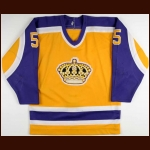 1982-83 Larry Murphy LA Kings Game Worn Jersey