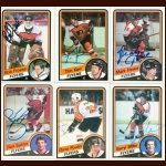 1984-85 Topps & OPC Philadelphia Flyers Autographed Card Group of 21 - Brad McCrimmon (Deceased)