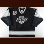 "1991-92 Jari Kurri Los Angeles Kings Game Worn Jersey – ""25-year Anniversary – Photo Match"
