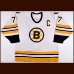 1988-89 Ray Bourque Boston Bruins Game Worn Jersey - Photo Match - The New England Collection