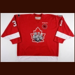 "2014-15 Zachary Fucale Quebec Remparts Game Worn Jersey – ""2105 Memorial Cup"" - Memorial Cup Commemorative - Photo Match – CHL Letter"