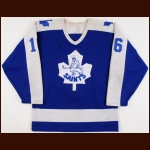 "1985-86 Kevin Maguire St. Catherines Saints Game Worn Jersey – ""AHL 50-year Anniversary"""
