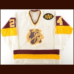 "1983-84 University of Minnesota-Duluth Game Worn Jersey – Player #24 – ""RAR"" – UMD's 1st Frozen Four – UMD's 1st Conference Championship"