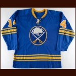 1972-73 Rene Robert Buffalo Sabres Game Worn Jersey - All Star Season - Career Best 40-Goal Season