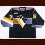 1999-00 Tom Barrasso Pittsburgh Penguins Game Worn Jersey