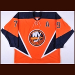2003-04 Alexei Yashin New York Islanders Game Worn Jersey – Alternate
