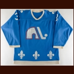 1977-78 J.C. Tremblay WHA Quebec Nordiques Game Worn Jersey