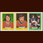 1973-74 Topps Hockey Complete Set of 198 – Bill Barber (R), Dave Schultz (R), Billy Smth (R), Bobby Orr – Average Grade EX-NM