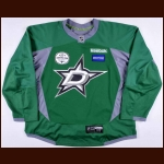 "2013-14 Dallas Stars Training Camp Worn Jersey – Player #53 – ""2013 Training Camp"""