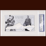 "Lorne ""Gump"" Worsley Autographed Card - The Broderick Collection - Deceased"