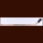 Anders Hedberg New York Rangers Northland Game Used Stick - Autographed