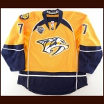 "2015-16 Stefan Elliot Nashville Predators Game Worn Jersey – ""2016 All Star"" – Photo Match – Team Letter"