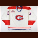 "1991-93 Brian Bellows Montreal Canadiens Game Worn Jersey – ""1993 NHL All Star Game"" - 40-Goal Season - Stanley Cup Season - Retired Number"