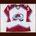 1997-98 Yves Sarault Colorado Avalanche Game Worn Jersey