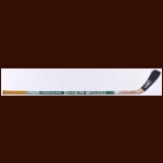 Craig Hartsburg Minnesota North Stars Green Sher-Wood Game Used Stick  - Autographed