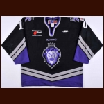 2006-07 Shawn Collymore Reading Royals Game Worn Jersey – ECHL Letter