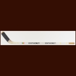 Terry O'Reilly Boston Bruins White Canadien Game Used Stick
