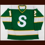 1968-69 Wayne Connelly/Barry Mackenzie Minnesota North Stars/Memphis South Stars Game Worn Jersey