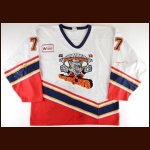1998-99 Wayne Muir Port Huron Border Cats Game Worn Jersey