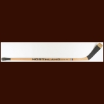 Bobby Hull Winnipeg Jets Northland Game Used Stick – Banana Curve - Autographed