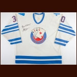 1993-94 Garth Snow Cornwall Aces Game Worn Jersey – Rookie - Inaugural Season