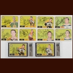 Lot of (10) 1968-69 OPC Boston Bruins Autographed Cards – Includes Deceased and Hall of Famers