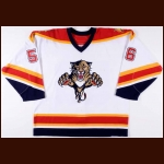 2006-07 Adam Taylor Florida Panthers Pre-Season Game Worn Jersey – Team Letter