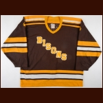 1984 Mike Ridley University of Manitoba Bisons Game Worn Jersey
