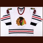 1998-99 Eric Weinrich Chicago Blackhawks Game Worn Jersey