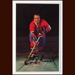 Henri Richard Montreal Canadiens Autographed Color Postcard