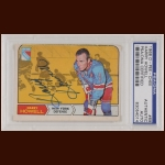 Harry Howell 1968 OPC - New York Rangers - Autographed - PSA/DNA