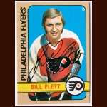 1972-73 Topps #139 Bill Flett Flyers - Autographed - Deceased