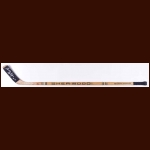 Gary Dornhoefer Philadelphia Flyers Sher-Wood Game Used Stick – Autographed