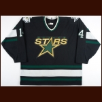1995-96 Daniel Marois Dallas Stars Game Worn Jersey