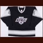 1990-91 Rob Blake Los Angeles Kings Game Worn Jersey – Rookie