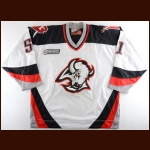 1999-00 Brian Campbell Buffalo Sabres Game Worn Jersey – Rookie