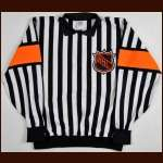 1995-96 Paul Stewart Referee Worn Jersey