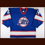 "1995-96 Darryl Shannon Winnipeg Jets Game Worn Jersey – ""A Season to Remember"" - Jets Final Season - The Darryl Shannon Collection – Darryl Shannon Letter"
