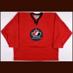 "2002 Scott Stevens Team Canada Olympics Training Camp Worn Jersey - ""Respect"""