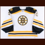 2014-15 Tuukka Rask Boston Bruins Game Worn Jersey - Photo Match – Team Letter