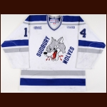 2003-04 Marc Staal Sudbury Wolves Game Worn Jersey