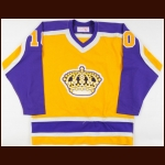 1981-82 Rick Martin Los Angeles Kings Game Worn Jersey - Last NHL Jersey