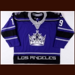 2000-01 Bob Corkum Los Angeles Kings Game Worn Jersey – Alternate - Team Letter
