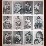 1975-76 Washington Capitals Autographed 5x7 B&W Photo Group of 12 - Including Nelson Pyatt and Bill Clement